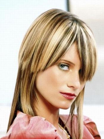 Продольное колорирование волос