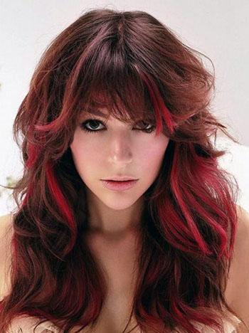 Окрашивание волос многоцветное