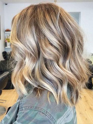 Мелированные волосы на короткие волосы