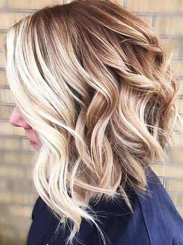 Покраска волос омбре на средние волосы фото